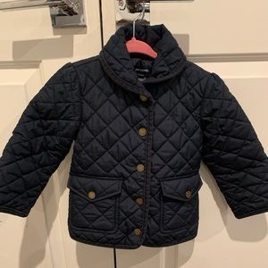 Ralph Lauren Girl's quilted jacket